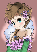Little Flower Colored by RaveRay