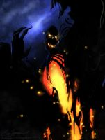 ~Tar and Fire~ by HalloweenHolidayDoor