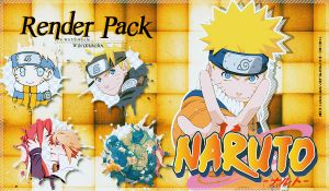 Naruto Renders by Thoxiic-Editions