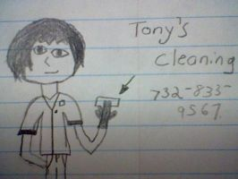 tony's cleaning by T400naruto