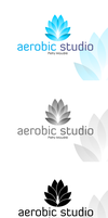 Winer logotyp for Aerobic studio by Visual-Creative