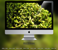 Moss Wallpaper by specialized666