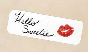 Hello Sweetie Bookmark by WildeMoon