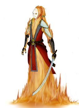 Character Sketch - Kaohi by Runic-Scribe