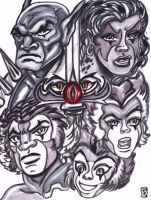 Thundercats Forever by KwongBee-Arts