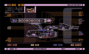 U.S.S. Enfield, MSD/LCARS Diagram (updated!) by harroldsheep