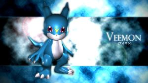 Veemon by me by EAA123
