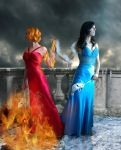 Fire and Ice by Emerald-Depths