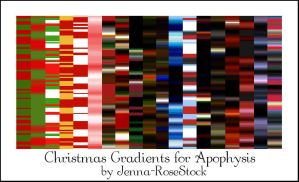 Christmas Gradients for Apo by Jenna-RoseStock