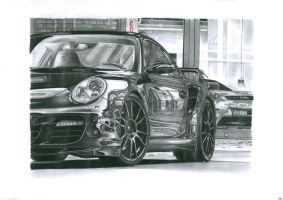 porsche 997 turbo by przemus