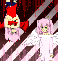 .:Angel and Devil:. by hazimah552