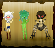 Monster Adopts 4 :closed: by owodoomkitty