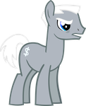 Vector test - that pony from Manehattan (naked) by RSTFactory
