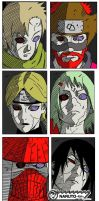 Six Paths of Pain by beauryan101
