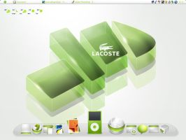 My Lacoste desktop by DorianDarko
