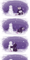 The Naked Snowman by Thalateya