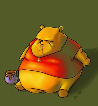 Pooh 21 years by CUETO