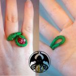Snake ring by LuckyCrisis