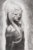 The Mysterious Masked Woman by Timbo1834