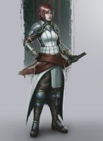Character Concept - The Swordsman by oneillustrates