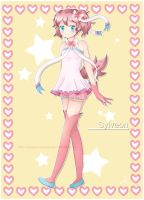 Sylveon gijinka by usagiprincess