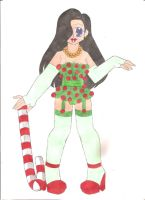 Candy Cane Lingerie by animequeen20012003