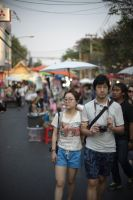 korean tourists in Chiang Mai by LoveYourPath