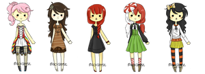 Candy Adopts by Holly-Alice