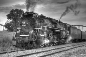 NKP 765 in Rock Island by laxhogger
