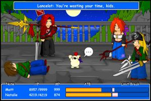 FF Battle 2 - Screenie by KupoGames