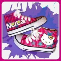 Hello Kitty - Nerea's customs by CustormShoesing