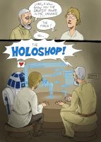 the holoshop by mastaczajnik