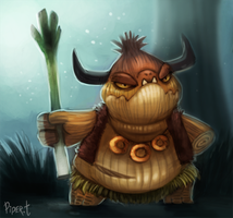 DAY 74. Ogres are like Onions... (35 Minutes) by Cryptid-Creations