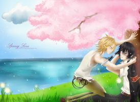 "Spring Love ""w"" by KisaSwan"