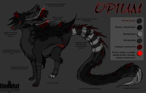 Opium reference sheet by Lindblut