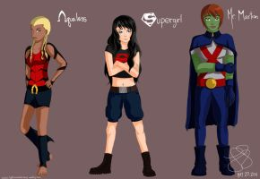 YOUNG JUSTICE GENDERBEND....PART 2! by lxoivaeh
