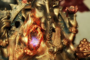Ganesha Photo Manipulation by Spiral-0ut