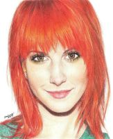 Hayley Williams by unnabanana