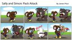 Pack Attack by JimmyCartoonist