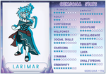 SU: Larimar Stat Sheet by Faint-Requiem