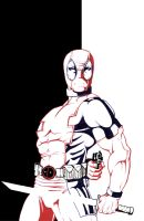 DeadPool in color by thelearningcurv