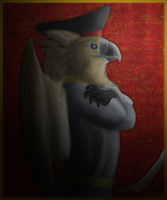 Anthro Gryph Captain by paracritter