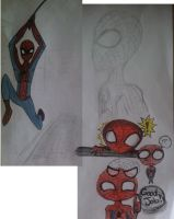 Spiderman Doodles by Piggy911