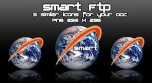 Smart FTP Dock Icon by badendesing