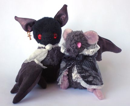 Bartlebee and Mildred by Pwyllo