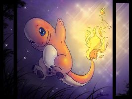 Charmander by rebenke