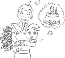 Look What Sokka Brought by fayedove