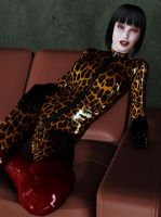 MACULATE CATSUIT2 by elenaevil