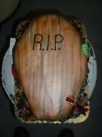Coffin Cake by Kahlan4