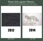 Draw this again! Meme 2014 by Rhymeable